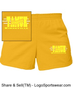 Junior MJ Soffe Cheerleading Short Design Zoom